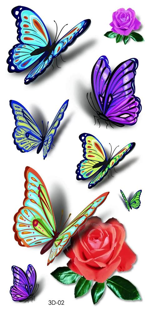 colorful butterfly tattoo designs colorful butterfly designs