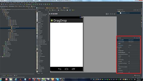 android ide ide accessing android studio properties window stack overflow