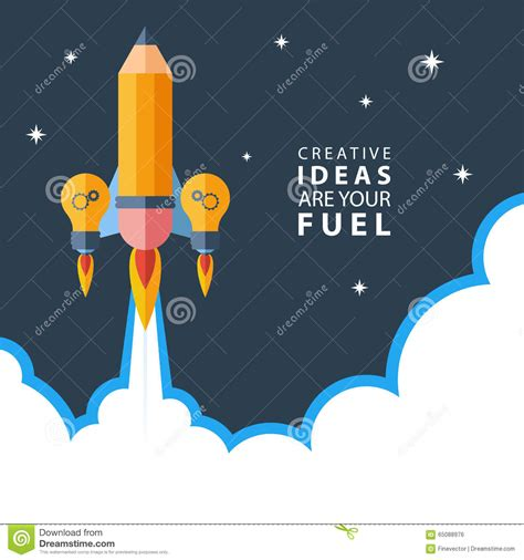 inner work using dreams and creative imagination for personal growth and integration books creative ideas are your fuel rocket launch flat design