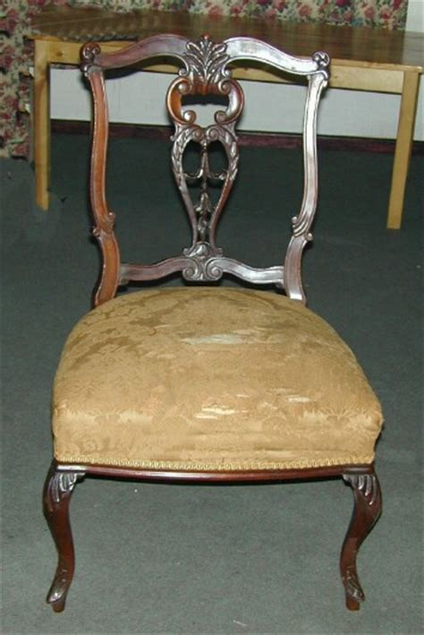 for sale edwardian mahogany dining chair