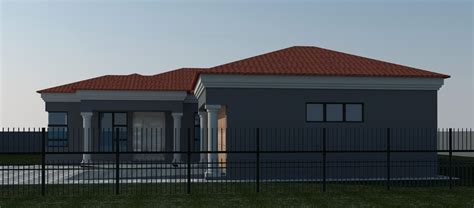 modern 4 bedroom house beautiful modern 4 bedroom house plans south africa