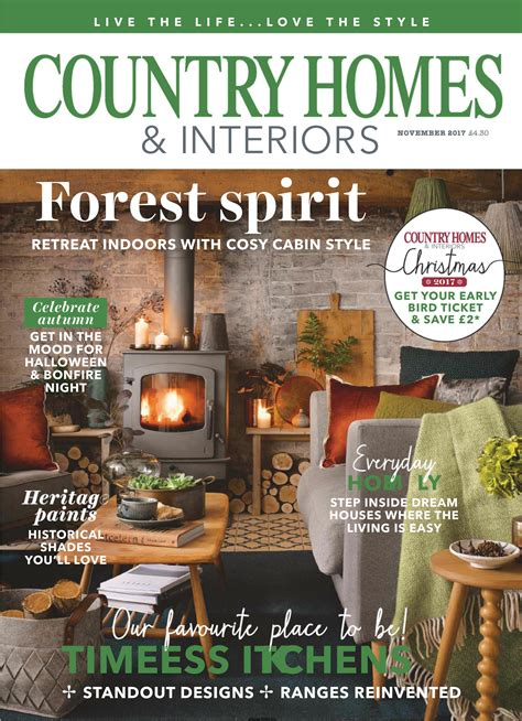 Homes And Interiors Magazine by Country Homes Interiors November 2017 Free Pdf
