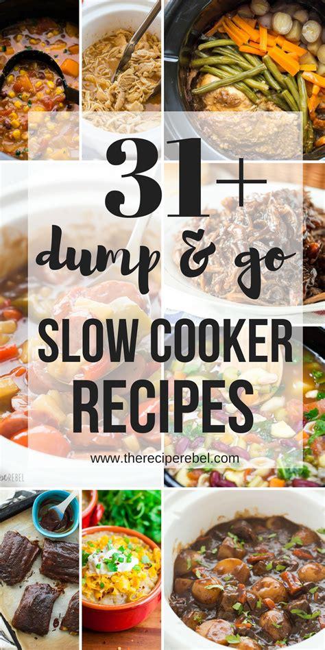 libro slow cooker recetas 19 dump and go slow cooker recipes crock pot dump meals