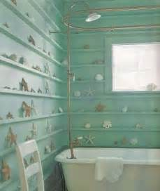 beachy bathrooms ideas pin seashell wallpaper border fever on