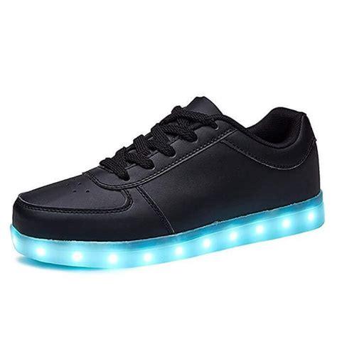 Led Shoes Black led shoes low top black