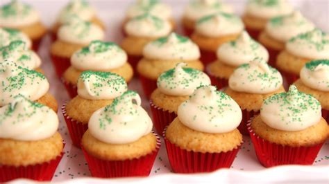 In The Kitchen Cupcakes by Mini Eggnog Cupcakes Recipe Vitale In The