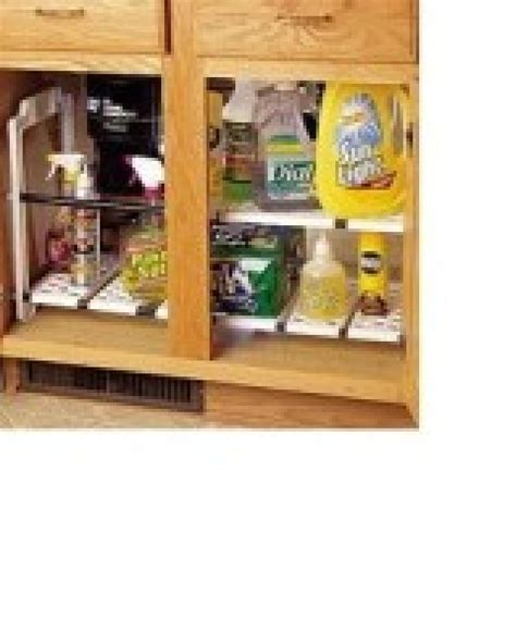 under sink shelf organizer under sink storage options hgtv