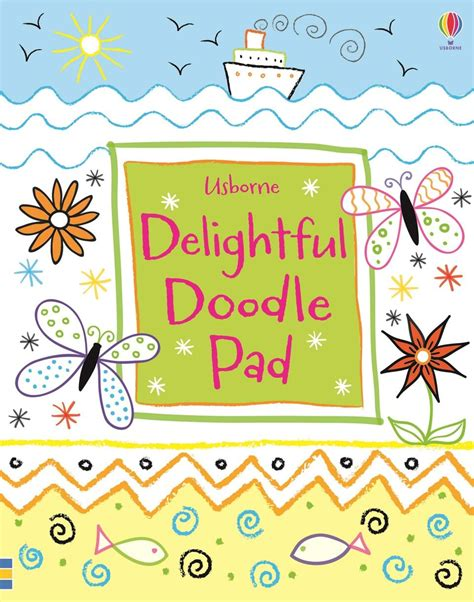 doodle pads delightful doodle pad at usborne books at home
