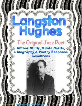 langston hughes printable biography langston hughes biography poetry analysis by jenifer