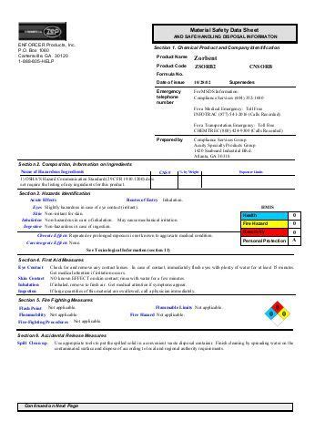msds flashpoint section 3554 anti foam english us msds zep commercial 16