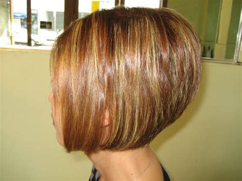 stacked short hair cuts front and back view short stacked bob hairstyles back view