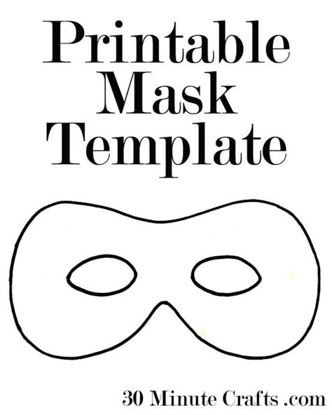 printable animal eye mask template printable halloween mask templates a superhero mask