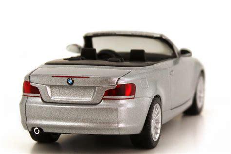 Bmw 1er Cabrio Modellauto by Bmw 1er Cabrio E88 Titansilber Met Werbemodell Herpa