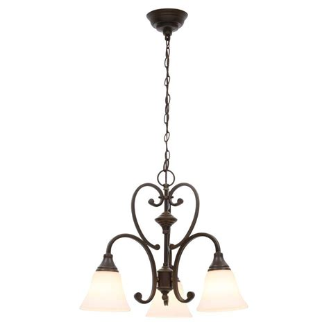 hton bay home decorators collection hton bay 3 light chandelier hton bay 3 light rubbed