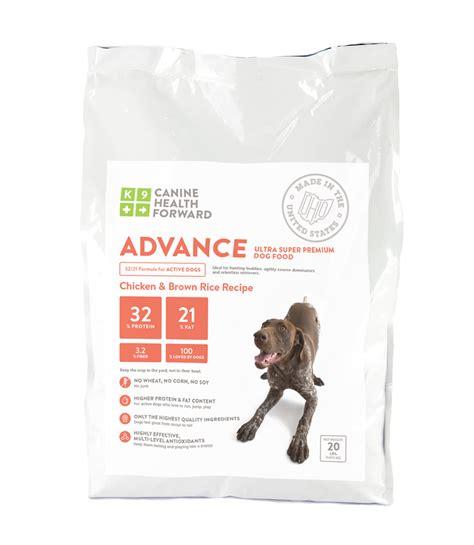premium puppy food advance ultra premium food canine health forward