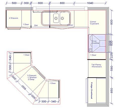 standard floor plan dimensions kitchen islands ideas plans woodworking projects plans