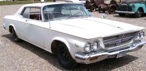 Chrysler K Car For Sale by 1964 Chrysler 300k 2 Door Hardtop Letter Car For Sale