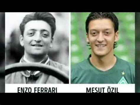 Ferrari Y Ozil by Enzo Ferrari And Mesut Ozil Many More Coincidences Youtube
