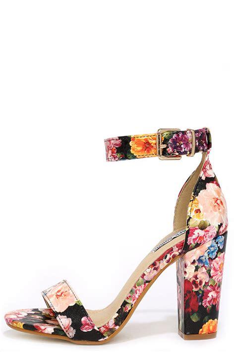 Or Not Ravels Big Flower Shoes by Floral Heels Ankle Heels Dress Sandals 35 00