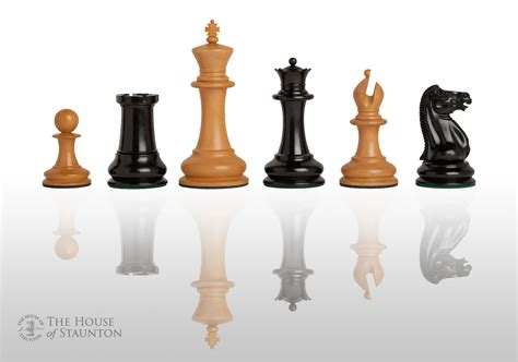 staunton chess pieces uscf sales the original 1849 luxury staunton chess set pieces only 4 4 quot king ebay