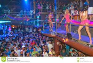 Nightclub Floor Plans party people dancing dj ibiza editorial stock image