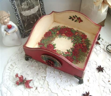 Decoupage Tray Ideas - 837 best images about decoupaged painted trays on