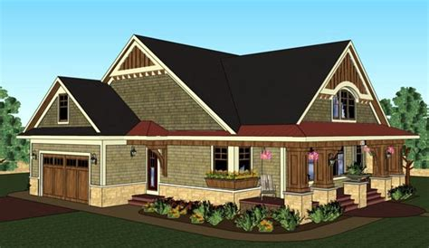 Traditional Craftsman House Plans by Bungalow Cottage Craftsman Traditional House Plan 42618