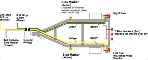 four pin trailer wiring diagram wiring diagram manual