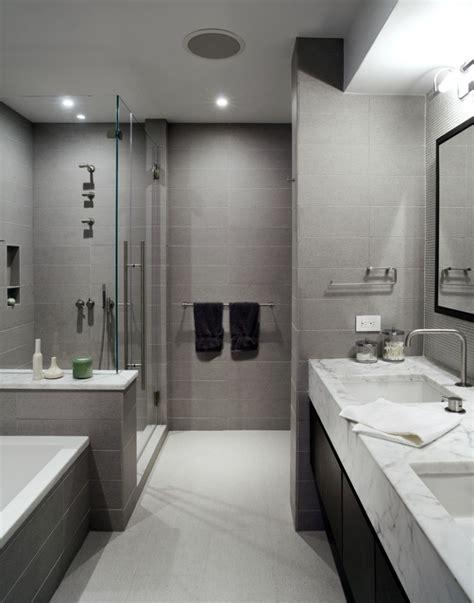 Black And White Bathroom Accent Color by Carrelage Salle De Bains Et 7 Tendances 224 Suivre En 2015