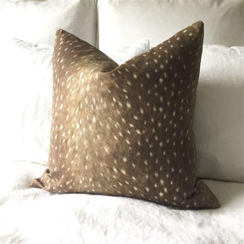 Deer Pillow by Deer Pillow Cover Deer Print Pillow Antelope Pillow
