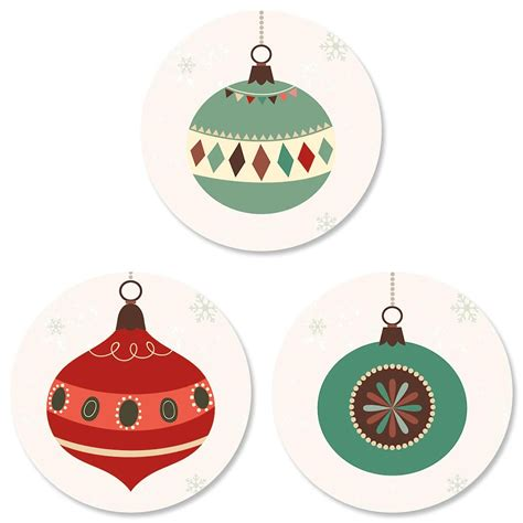 ornament trio envelope sticker seals current catalog