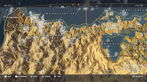 Find On By Location Assassin S Creed Origins Hermit Hideout Locations Guide How To Find Every Hermit
