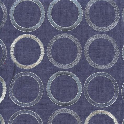 embroidered linen drapery fabric society grove indigo blue embroidered linen drapery fabric