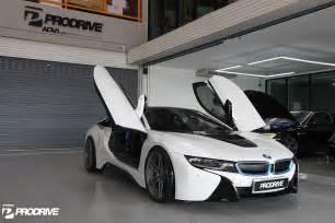 Bmw I8 Wheels Pearl White Metallic Bmw I8 With Adv 1 Wheels
