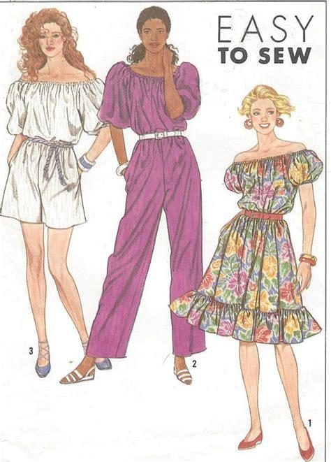 Jumpsuit Dress Motif 6191 10 les 830 meilleures images du tableau 1990s sewing patterns