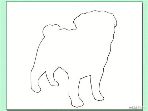 Pug Outline by 10 Best Images About How To Draw Apug On A Pug How To Draw And Steps