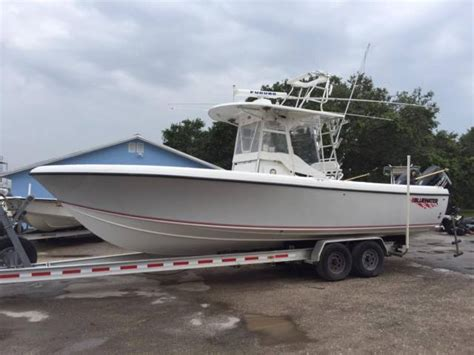 bluewater offshore boats used 2007 blue water 2850 31 ft offshore fishing boat for