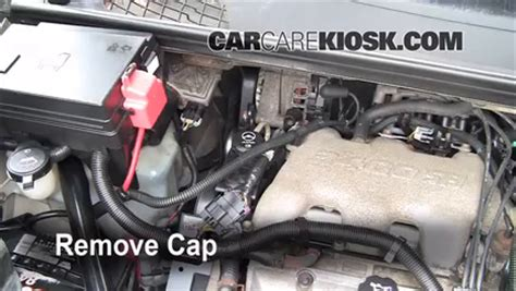 2005 buick lacrosse power steering fluid check power steering level buick rendezvous 2002 2007