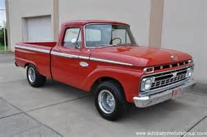 1966 Ford F100 1966 Ford F100 Custom Cab Autobahn