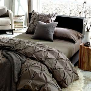 comforter with duvet cover organic cotton pintuck duvet cover shams transitional