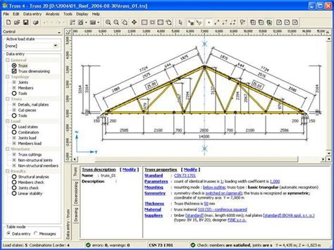 layout calculation software roof truss design software steel roof truss design