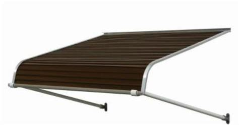 Awnings At Home Depot by Nuimage Awnings 4 Ft 2500 Series Aluminum Door Canopy 16
