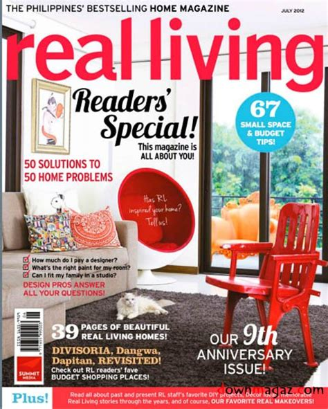 home design magazine philippines real living philippines july 2012 187 download pdf
