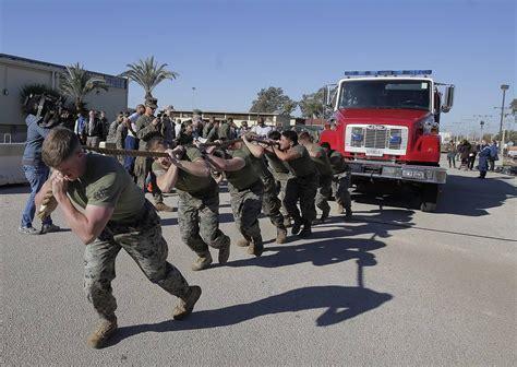 la base americana de moron de la frontera abre sus puertas