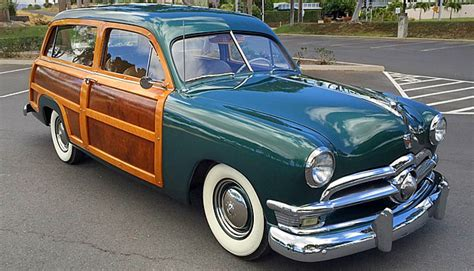 1950 ford country squire woodie woody custom deluxe series