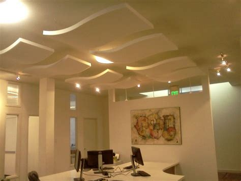 Hung Ceiling Acoustic Panels Hanging From Ceiling Office Inspiration