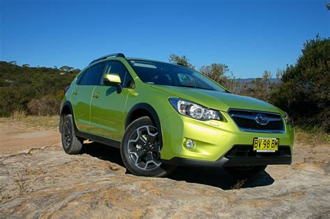 subaru xv green 2014 subaru xv review practical motoring