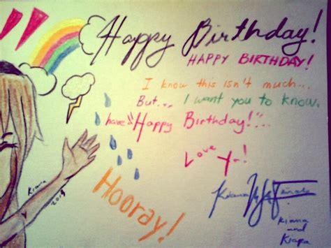 Best Friend Birthday Cards Happy Birthday Card To My Best Friend By Mekikatoka On