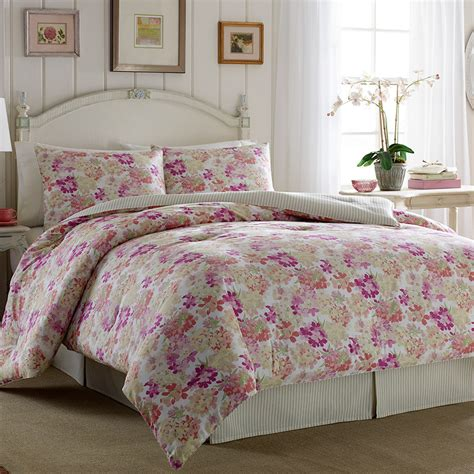laura ashley secret garden comforter set bedrooms