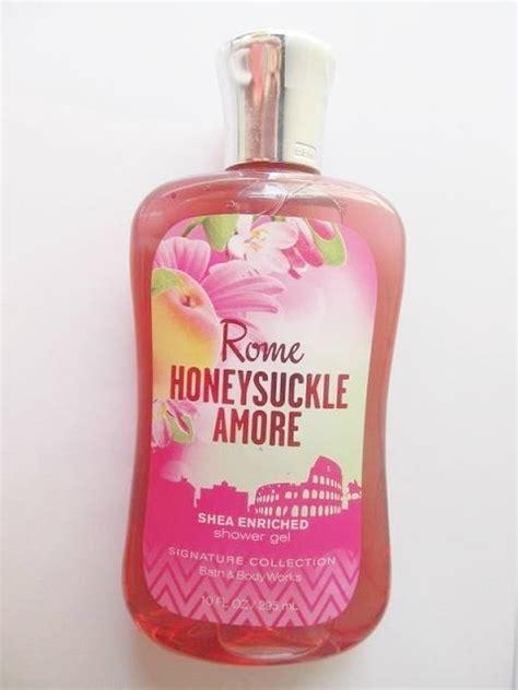 Shower Honeysuckle bath works rome honeysuckle shower gel review